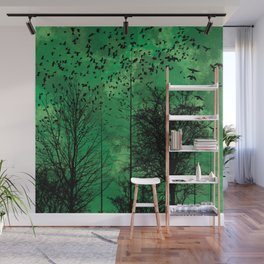 Turning Green Wall Mural