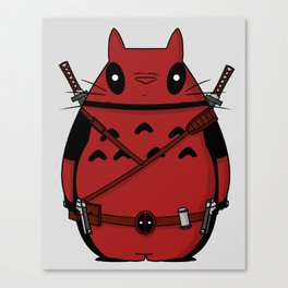 TotoDeadpool Canvas Print