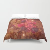 cocktail Duvet Covers featuring Blackberry Cocktail. by Heather Goodwin