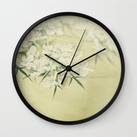 lace Wall Clocks featuring lace by Bonnie Jakobsen-Martin
