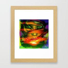 """"""" Look at night """"  Framed Art Print"""