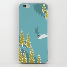 Girls snowboarding iPhone Skin