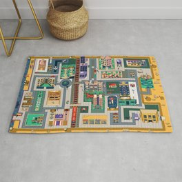 Map of life Rug