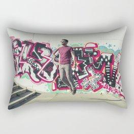 Hipster Abduction Rectangular Pillow