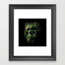 Watermelokong Framed Art Print