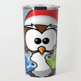 Christmasowl Travel Mug