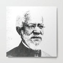 African American Afro Art - The Black Depot - BLM Alexander Crummell 2k Metal Print
