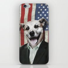 Patriotic Dog   USA iPhone & iPod Skin