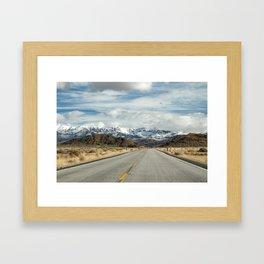 Approaching a Certain Elevation Framed Art Print