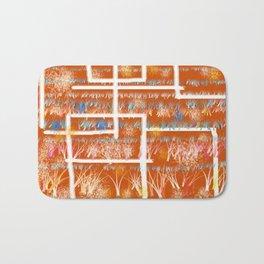 Orange Room Bath Mat