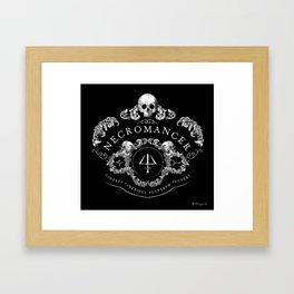 Necromancer Emblem Framed Art Print
