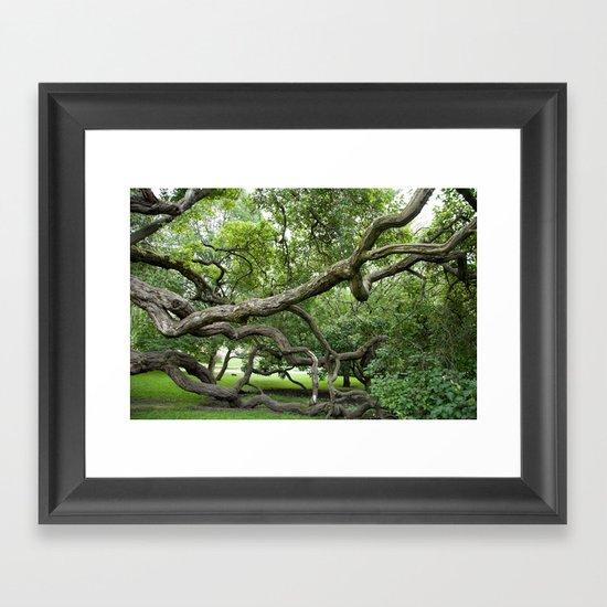 adapt or perish Framed Art Print