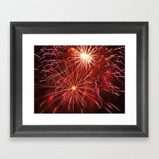 Fireworks 2 Framed Art Print