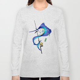 Sailfish Pole Dancer Long Sleeve T-shirt