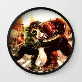 Iron man vs Hulk - Hulkbluster Wall Clock