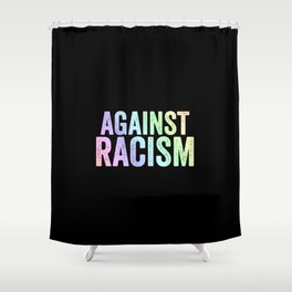 Fight Racism   Antifacists Against Nazis Gift Ideas Shower Curtain