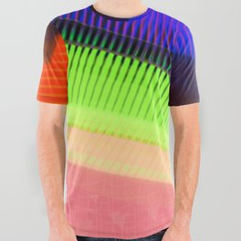 Color Wave ~035~ All Over Graphic Tee