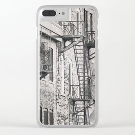 Everyone Needs An Escape Clear iPhone Case