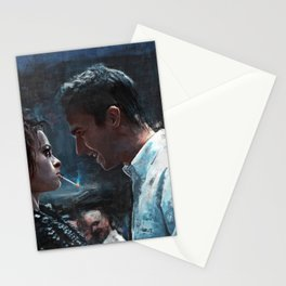 The Confrontation With Marla Singer - Fight Stationery Cards