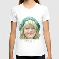 emma stone T-shirts featuring Emma Stone by You Xiang