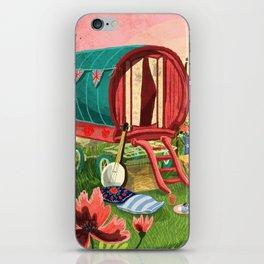 Gypsy Caravan at Sunset iPhone Skin