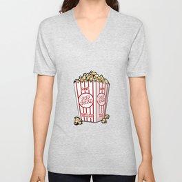 Fresh Popcorn Unisex V-Neck