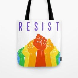 Resist (Pride) Tote Bag