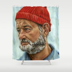 Bill Murray / Steve Zissou Shower Curtain