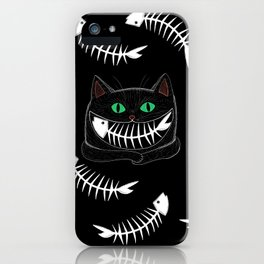 Fish Eating Grin iPhone Case