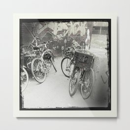 Bikes of Mile end / Les vélos du Mile end Metal Print