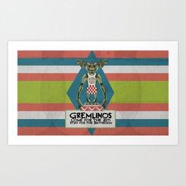 Gremlinos Late night restaurant Art Print