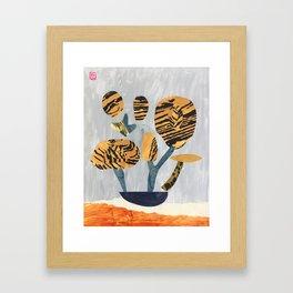 Tiger Tree Framed Art Print