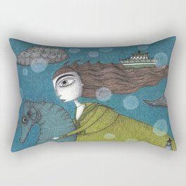 The Sea Voyage Rectangular Pillow