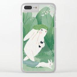 Rain Clear iPhone Case