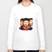 barcelona Long Sleeve T-shirts featuring Barcelona by IremYorukoglu