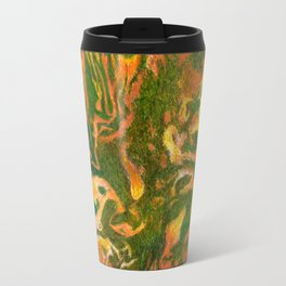 Marbleized and Glazed Travel Mug