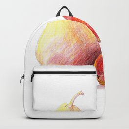 Pears, Color pencil Backpack