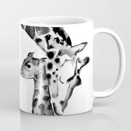Black and white giraffes Coffee Mug