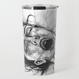 Moan black&white - Erotic Art Illustration Orgasm Sex Sexual Love Pleasure Climax Woman Face Travel Mug