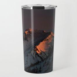Early Morning Mountain Sunrise Travel Mug