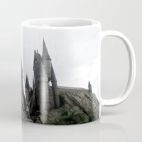 castle Mugs featuring Castle by I AmErika