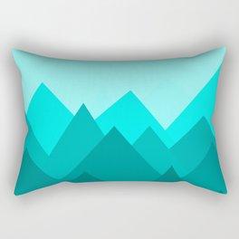Simple Montains Rectangular Pillow