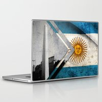 argentina Laptop & iPad Skins featuring Flags - Argentina by Ale Ibanez