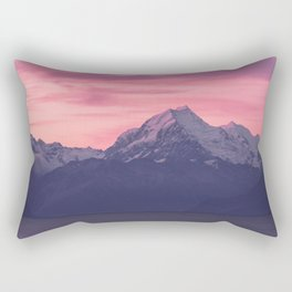 Aoraki Sunset Rectangular Pillow