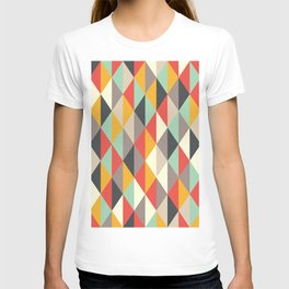 AUTUMN PUMPKIN RHOMB PATTERN T-shirt