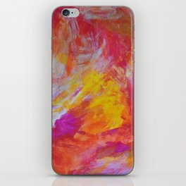 Colorful stains iPhone Skin