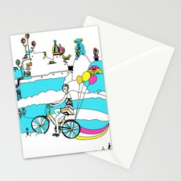 PING PONG SPRING Stationery Cards
