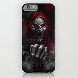 Skulls N' Smoke iPhone Case