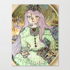 Princess Flora Canvas Print