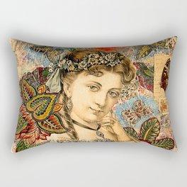 Old Fasiond Girl Rectangular Pillow